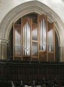 Orgelbau Kuhn organ in Jesus College